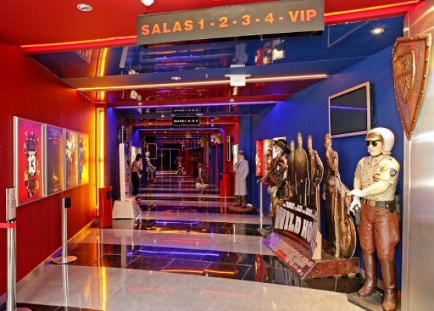 Ser VIP é no Cinema City
